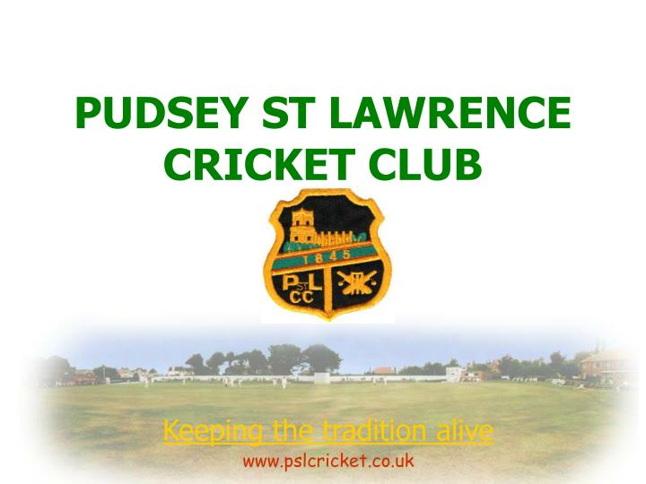 pudsey st lawrence cricket club n.