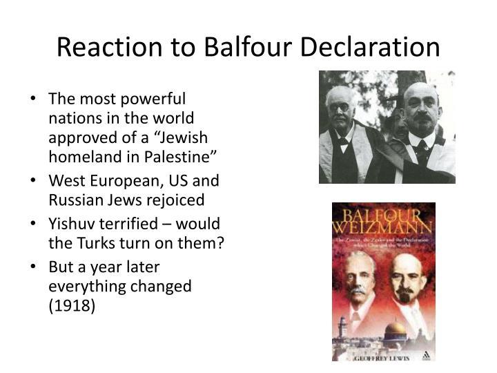 Balfour declaration pdf