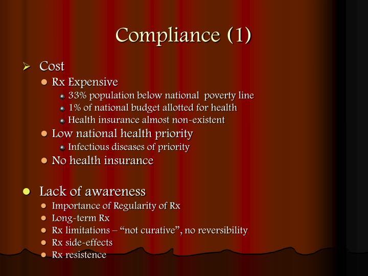 Compliance (1)