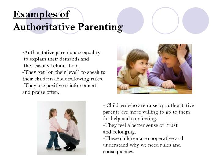 understanding authoritarian parenting Understanding parenting styles theory is a good way for us to become more conscious of our own parenting the different parenting styles influence a parents' attempts to control and socialize their children.