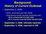 background history of current outbreak2