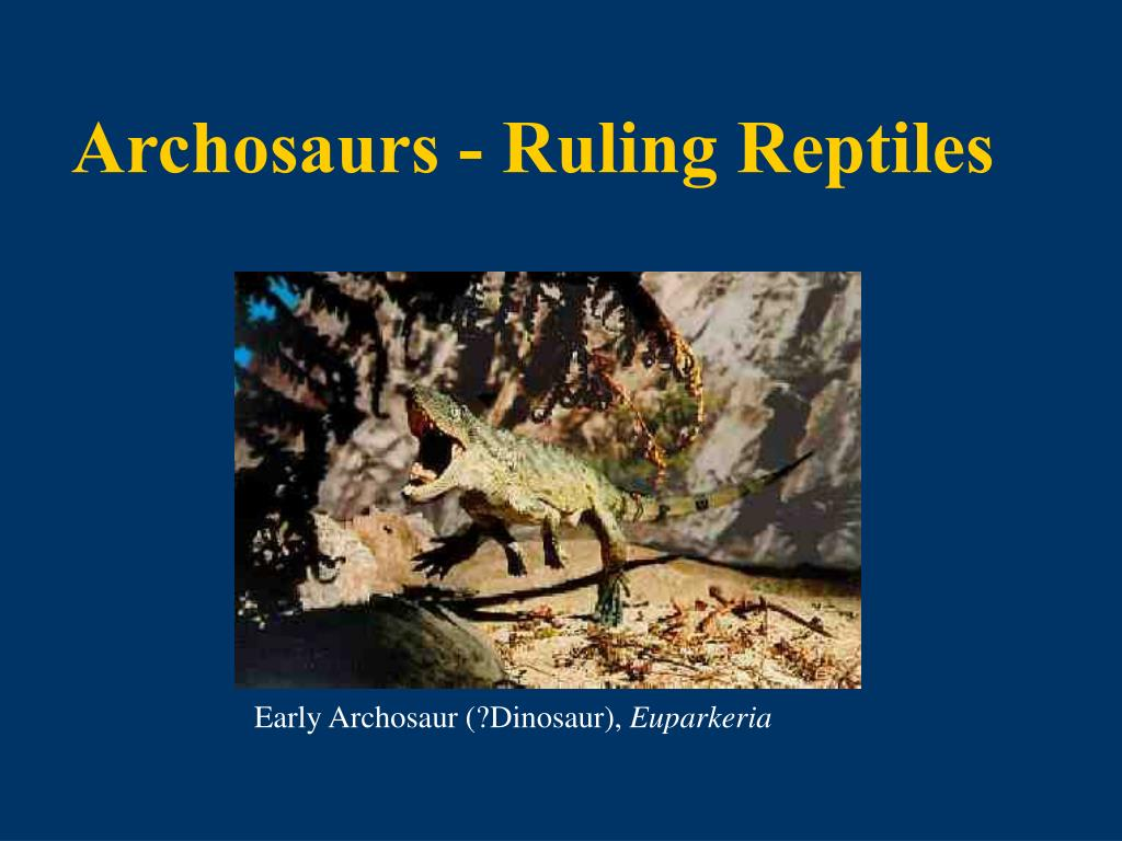 Archosaurs - Ruling Reptiles
