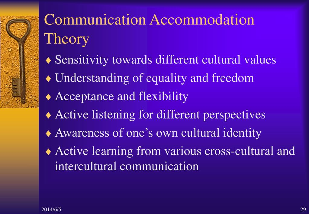 PPT - Cross-cultural Understanding and Appreciation