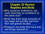 chapter 32 review reptiles and birds11