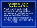 chapter 32 review reptiles and birds5