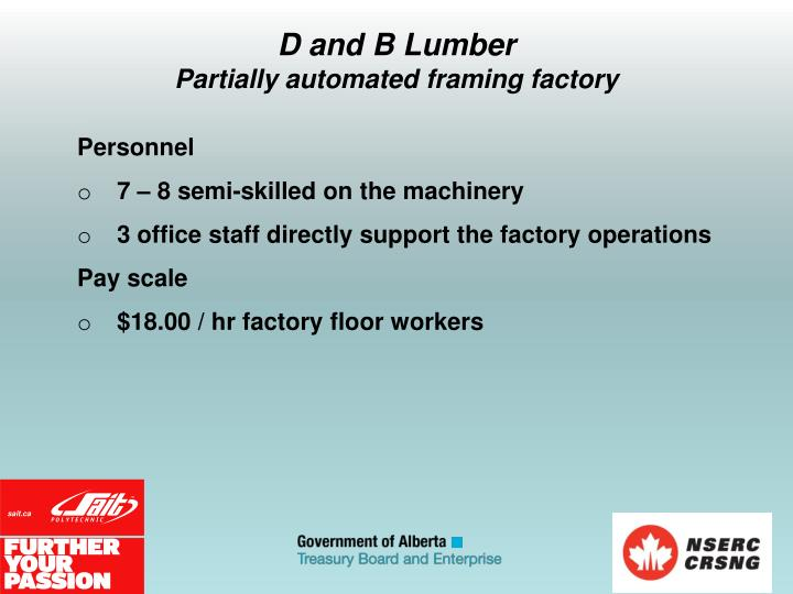 D and B Lumber
