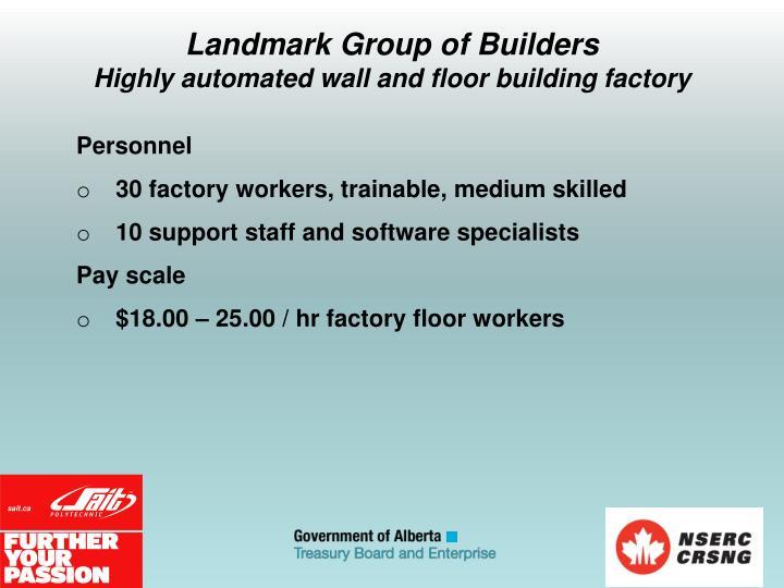 Landmark Group of Builders