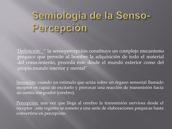Semiología de la