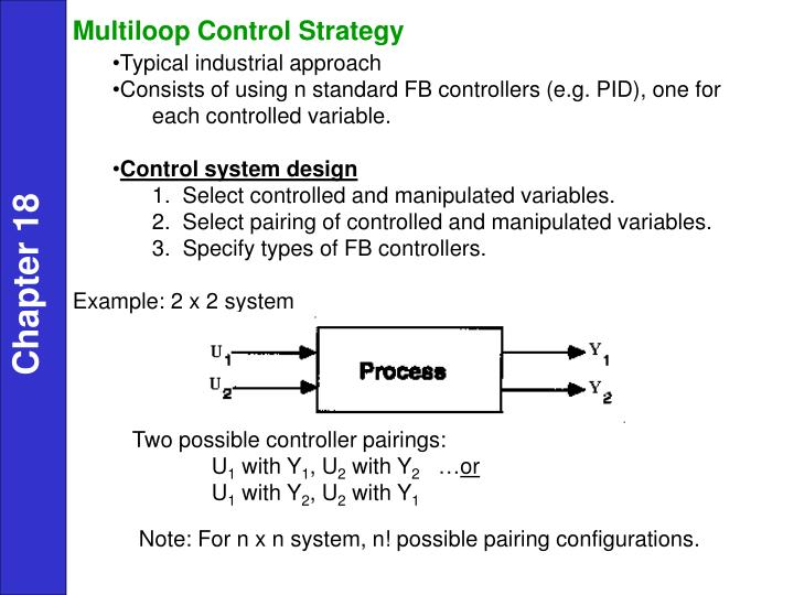 PPT - Control of Multiple-Input, Multiple-Output Processes ...