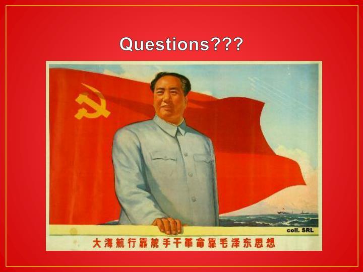 Questions???
