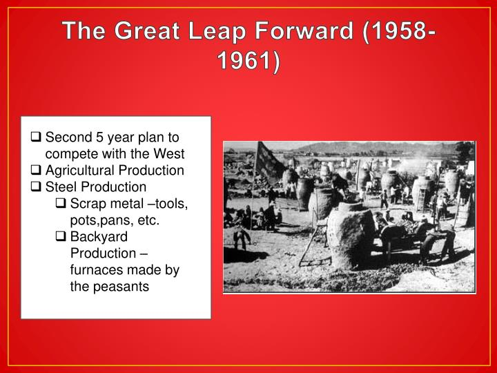 The Great Leap Forward (1958-1961)