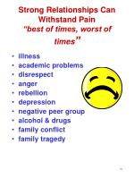 strong relationships can withstand pain best of times worst of times