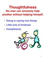 thoughtfulness n o man can sincerely help another without helping himself