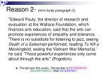 reason 2 mini body paragraph 2