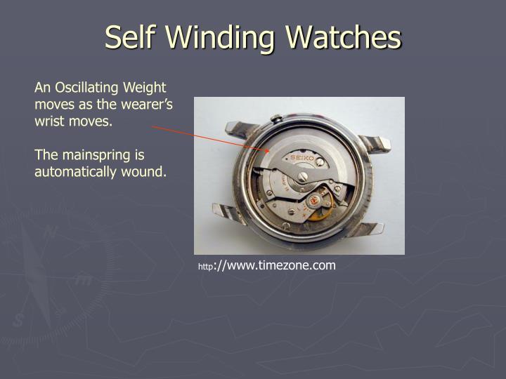 Self Winding Watches