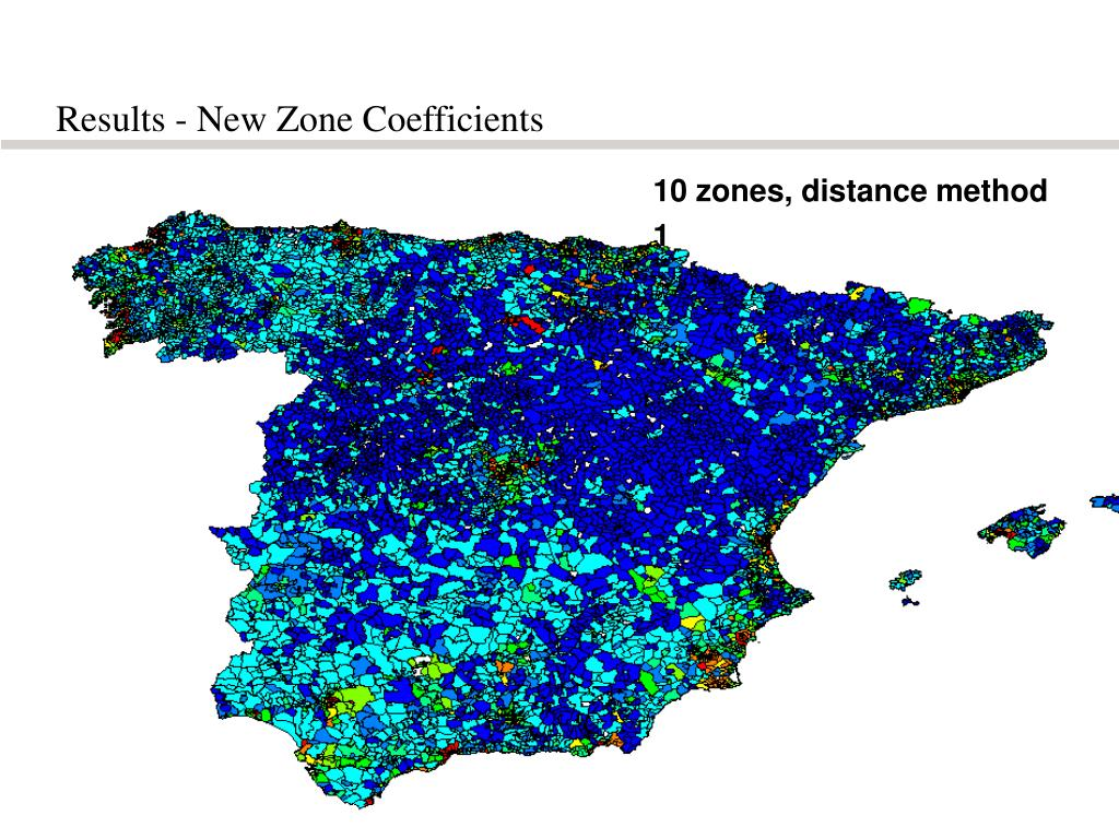 Results - New Zone Coefficients