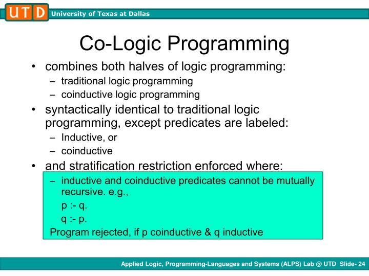 Co-Logic Programming