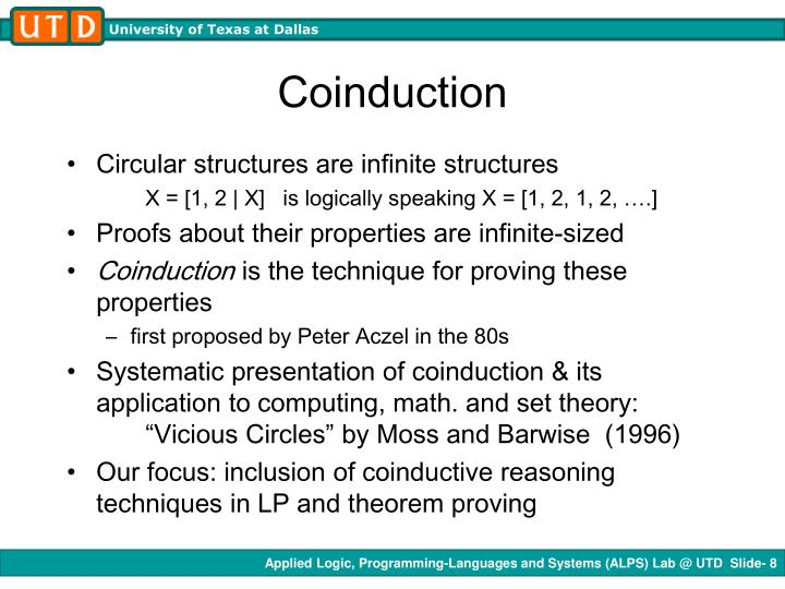 Coinduction