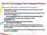 why do technologists feel underpaid redux