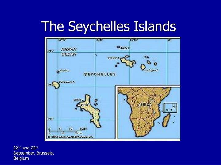 The seychelles islands