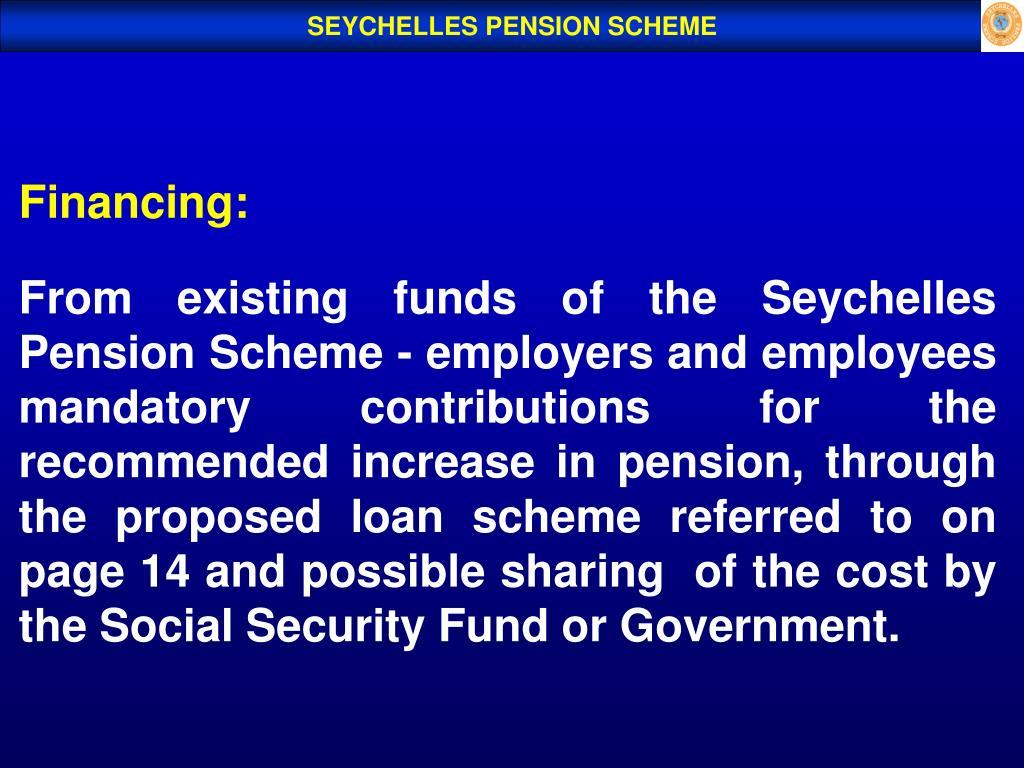 SEYCHELLES PENSION SCHEME