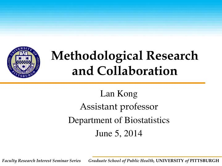 methodological research and collaboration n.