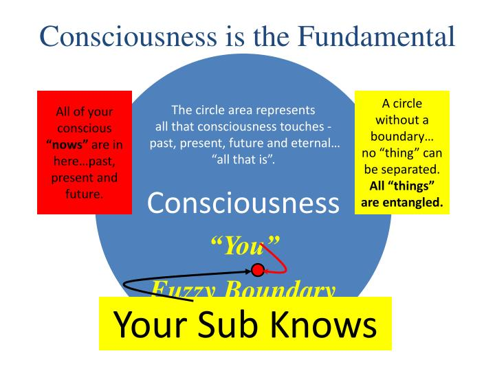 Consciousness is the Fundamental
