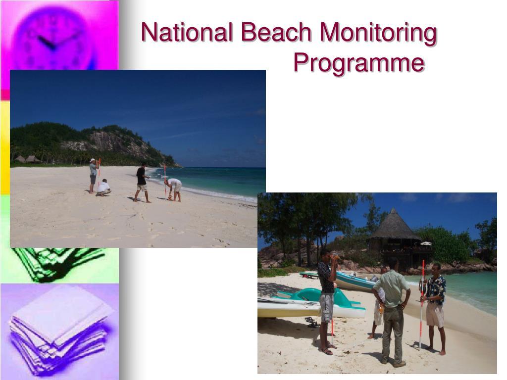 National Beach Monitoring Programme