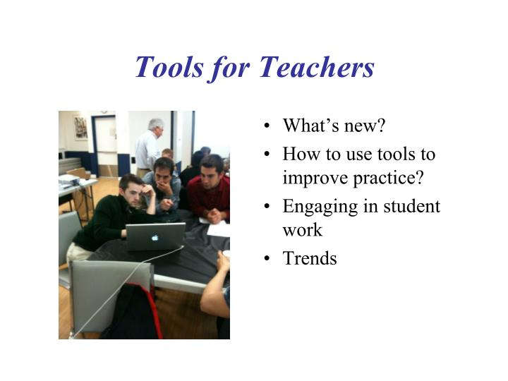 tools for teachers n.