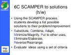 6c scamper to solutions h w