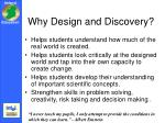 why design and discovery