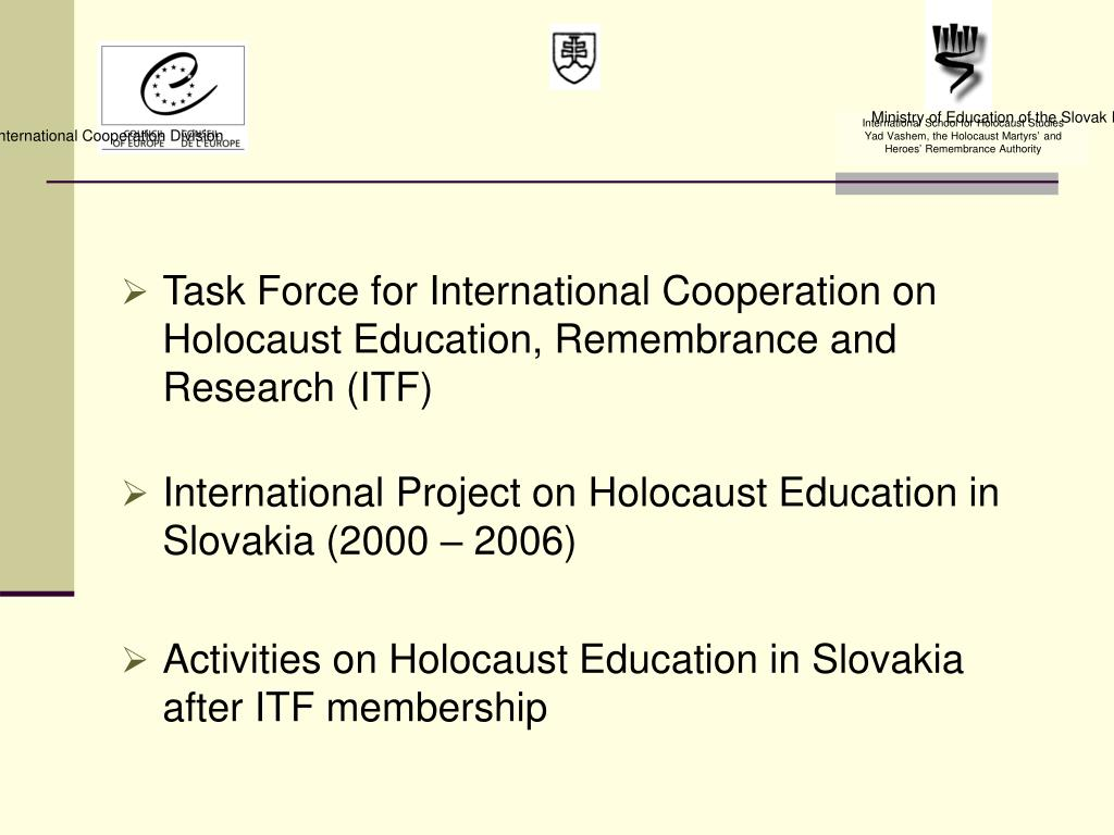 Ministry of Education of the Slovak Republic
