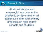 strategic goal