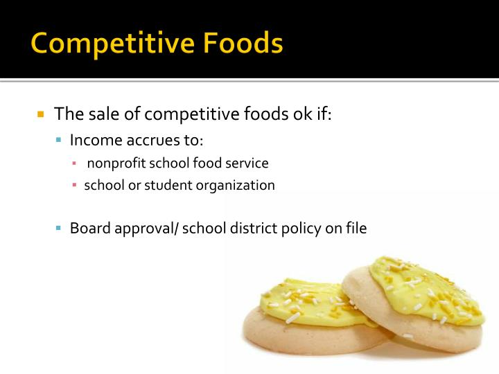 Competitive foods1