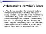 understanding the writer s ideas3