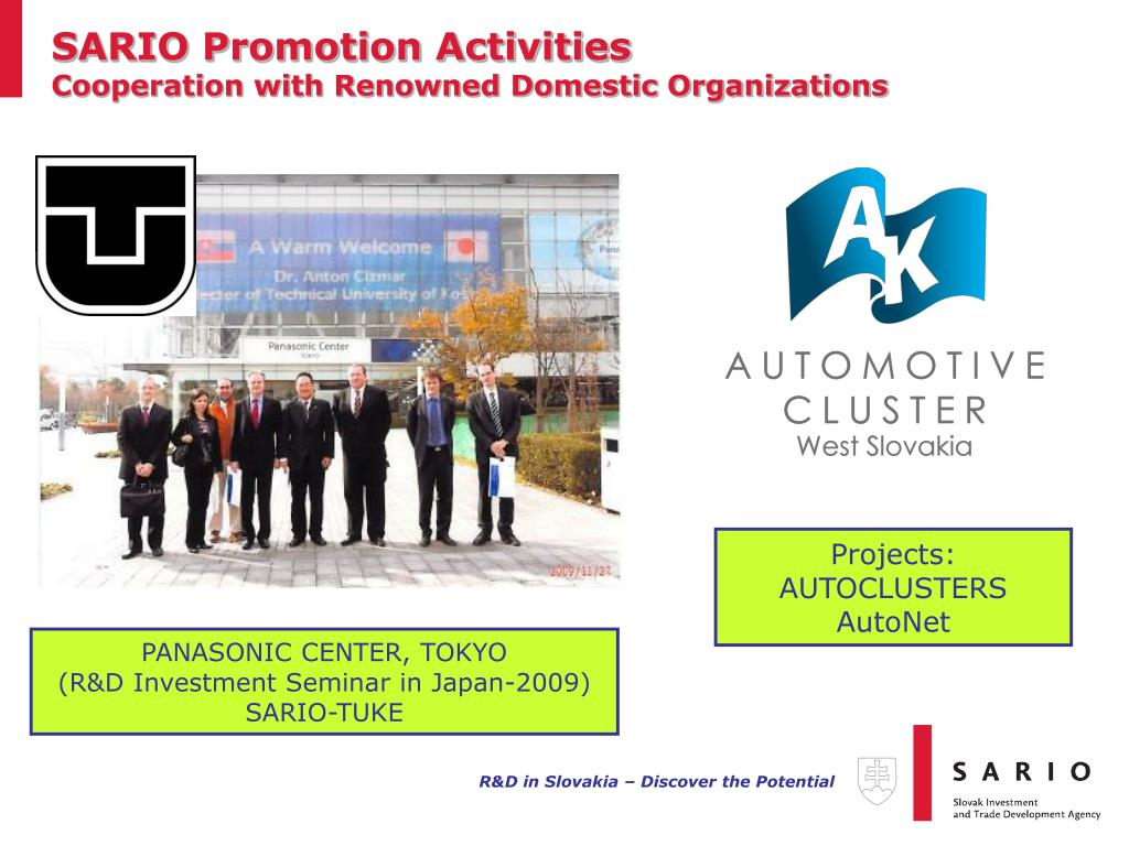 SARIO Promotion Activities