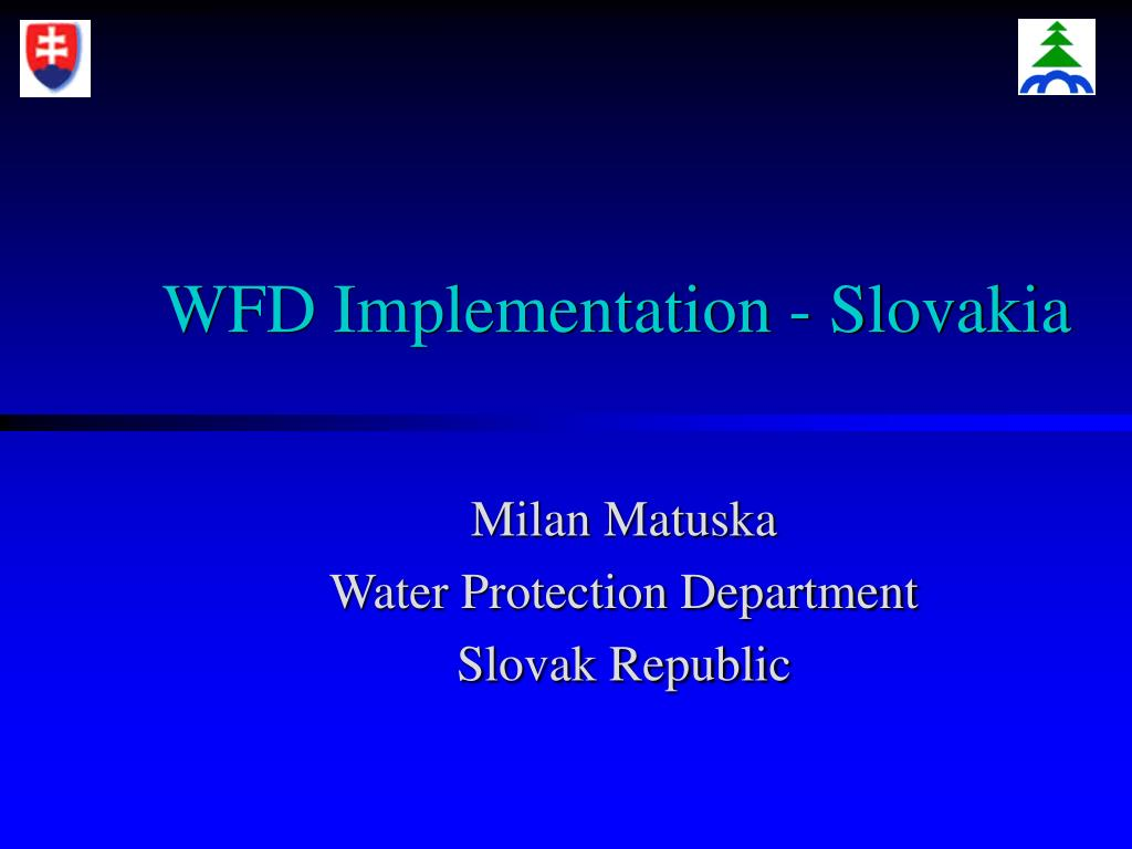 wfd implementation slovakia l.