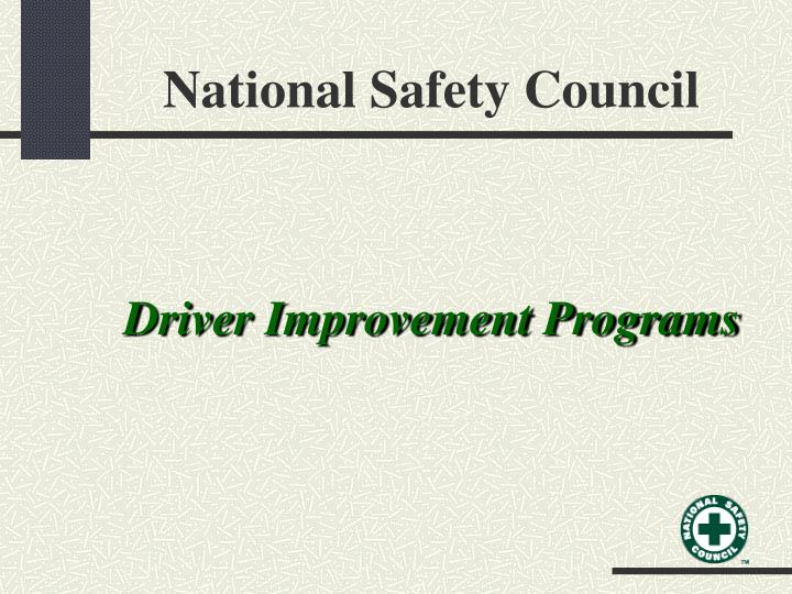 national safety council n.