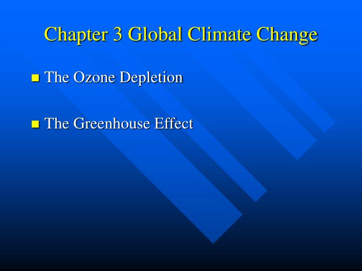 chapter 3 global climate change n.