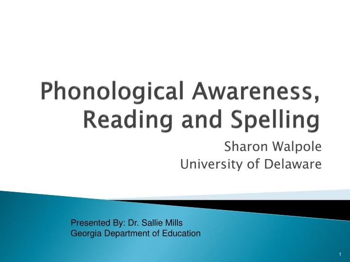 phonological awareness reading and spelling n.