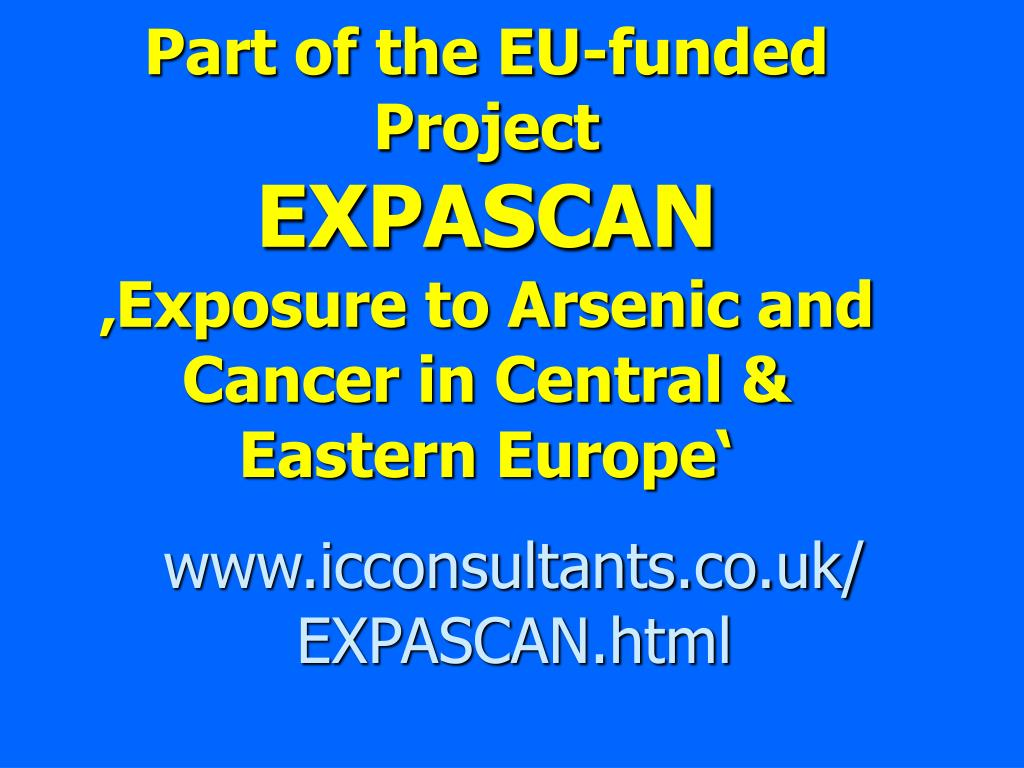 Part of the EU-funded Project