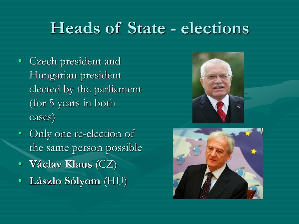 Heads of State - elections