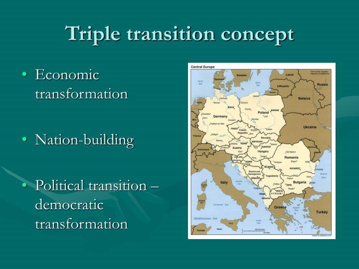 Triple transition concept