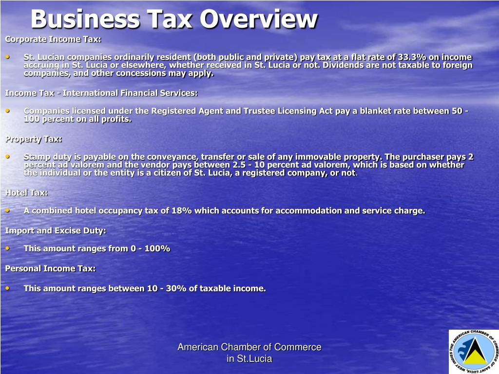 Business Tax Overview
