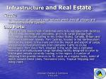 infrastructure and real estate