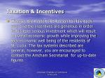 taxation incentives