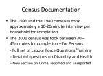 census documentation5