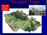 the capital prague