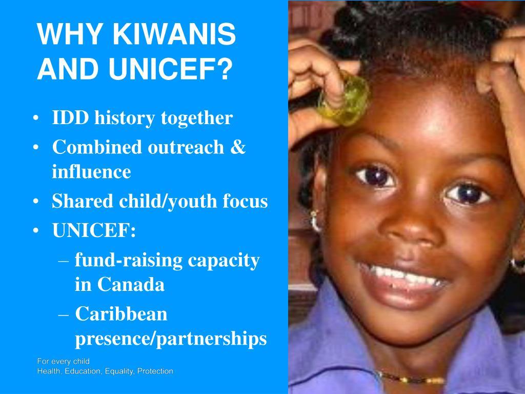 WHY KIWANIS