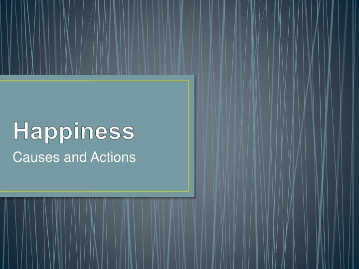 happiness n.